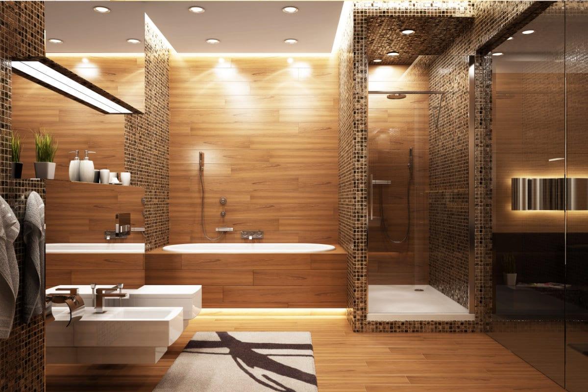 Salle de bain créer par un designer d'interieur